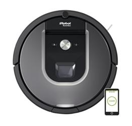 iRobot Roomba 960 Staubsaug-Roboter (systematische Navigation, App) silber -