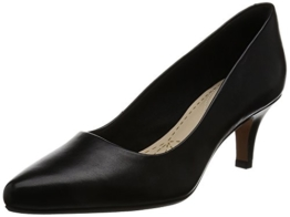 Clarks Damen Isidora Faye Pumps, Schwarz (Black Leather), 35.5 EU -