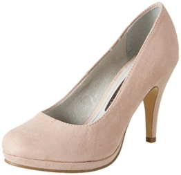 Tamaris Damen 22407 Pumps, Pink (Rose 521), 38 EU -