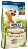 Happy Dog Hundefutter 2563 NaturCroq Lamm & Reis 15 kg -