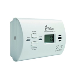 KIDDE CO-Alarm X10-D mit Display Kohlenmonoxidmelder, weiß, 13775 -