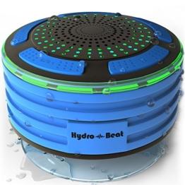 2017Bluetooth hydro-beat Beleuchtung tragbar Wireless Funk Lautsprecher vollständig wasserdicht, staub und stoßfest 100% Geld zurück-Garantie, Jedes Bluetooth-Gerät mit Leichtigkeit. Auf der Go in jedem Ort funktioniert sogar Unterwasser. Ideal für Badezimmer, Schlafzimmer, innen und außen. -