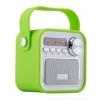 Bluetooth Lautsprecher mit Radio,Tragbar FM Radio Wireless Küchenradio - 5W 2200mAh 3.0 Bluetooth Drahtlose Lautsprecher mit Starken Bass & USB AUX Eingang,TF Steckplatz von VOOKI -