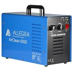 ALLEGRA Air Clean 6000 Ozongenerator Luftreiniger 6g/h -