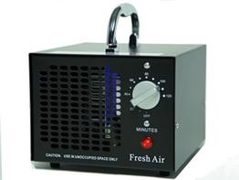 Kommerzieller Ozonisator 3500mg 03, industrieller Ozon Luftreiniger, schwarz, Luftverbesserer, Luftsterilisator Ozone Generator -