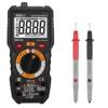 Tacklife DM01M Advanced Version Digital Multimeter Multi Tester mit 6000 Counts, True RMS, Temperatur, Live Wire, Beep Kontinuität Test mit Hintergrundbeleuchtung(Schwarz/Rot) -