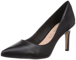 Buffalo Shoes H733-C002A-4 P1735A, Damen Pumps, Schwarz (BLACK 01), 40 EU -