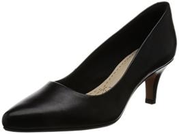 Clarks Damen Isidora Faye Pumps, Schwarz (Black Leather), 35.5 EU -