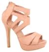 Elara Damen Pumps | Moderne Cut Out Stilettos | Wildlederoptik High Heels Größe 36, Farbe Pink -