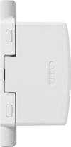 ABUS Automatische Scharnierseiten-Sicherung FAS97, weiß, 11782 -