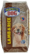Perfecto Dog Lamm & Reis, 1er Pack (1 x 15 kg) -