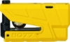 ABUS Bremsscheibenschloss-ABUS Bremsscheibenschloss Detecto 8077 Motorrad SRA Granit X-Plus Gelb -