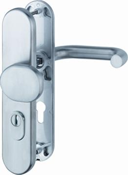 ABUS Tür-Schutzbeschlag KLS114 edelstahl rund 04096 -