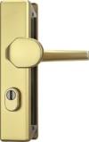 ABUS Tür-Schutzbeschlag KLZS714 F3 mit Zylinderschutz eckig, 08426 -
