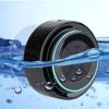 Duschlautsprecher - Zertifizierter wasserdichter Bluetooth 3.0 Lautsprecher mit FM Radio, 6hrs Spielzeit, Dedicated Saugnapf, Eingebauter Mic, Freisprecheinrichtung -