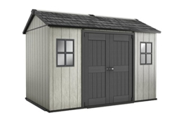 Keter Gerätehaus, Oakland 1175, braun / grau, 350 x 229 x 254 cm, 17204172 -
