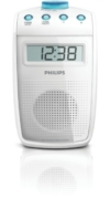 Philips AE2330 Tragbares Duschradio (UKW-/MW-Tuner, LC-Display) weiß -