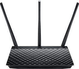 Asus RT-AC53 AC750 Dual-Band 802.11ac WLAN Router (Gigabit LAN/WAN, 8x SSID, AiRadar) -