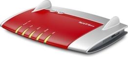 AVM FRITZ!Box 7430 (VDSL-/ADSL2+, WLAN N, 450 MBit/s (2,4 GHz), TK-Anlage für Voice over IP mit DECT-Basis, Mediaserver) geeignet für Deutschland -
