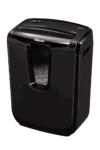 Fellowes Powershred M-7C Aktenvernichter, Schneidleistung - 7 Blatt - Partikelschnitt, schwarz -